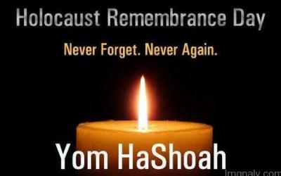 Statement on Yom HaShoah 2019