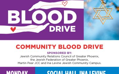 Joint Jewish Community Blood Drive